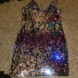 Sequin fashion nova dress